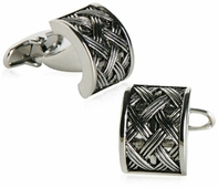 Austrian Urban Lattice Cufflinks