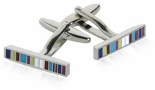 Colored Barcode Cufflinks