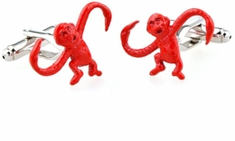 Barrel of Monkeys Cufflinks