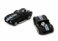 Black Cobra Race Car Cufflinks
