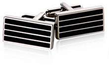 Black European Cufflinks
