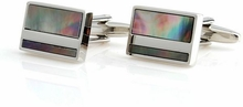 Black Mother of Pearl Cufflinks