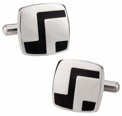 Black Stainless Cufflinks