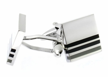 Black Transitions Cufflinks