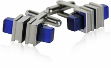 Blue Bar Cufflinks