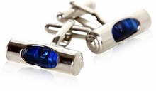 Blue Level Cufflinks