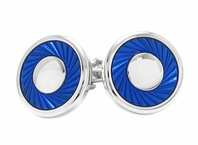 Blue Ring Cufflinks