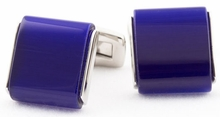 Blue Slab Cufflinks