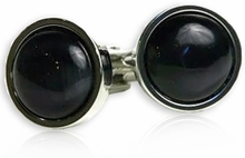 Bold Dark Gray Cufflinks