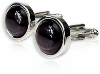 Bold Purple Cufflinks