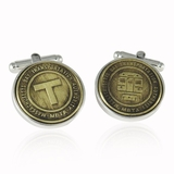 Boston Subway Token Cufflinks MBTA