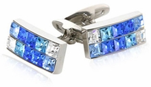 Brilliant Blue Cuff Links