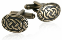 Bronze Celtic Knot Cufflinks