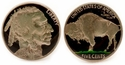 Buffalo Nickel Cufflinks Hand Painted