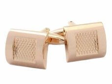 Burnout Rose Gold Cufflinks