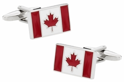 Canadian Flag Canada Cufflinks