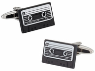 Cassette Tape Retro Cufflinks