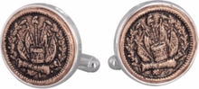 Civil War Token Cufflinks