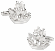 Clipper Tall Ship Cufflinks