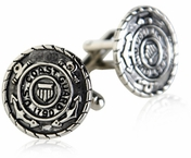 Coast Guard Cufflinks Silver USCG