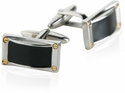Confident Black Cufflinks