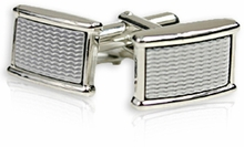 Conservative Metal Cufflinks