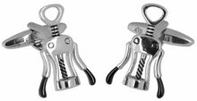 Corkscrew Wine Cufflinks