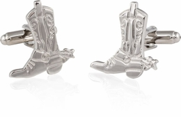 Cowboy Boots and Spurs Cufflinks