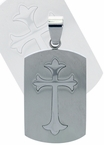 Cross Dog Tag