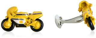 Crotch Rocket Cufflinks