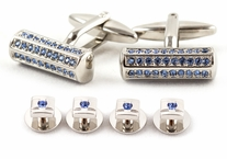 Crystal Bar Formal Set Blue