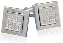 Crystal Focus Cufflinks