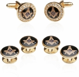 Crystal Gold Masonic Formal Set