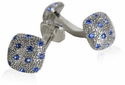 Crystal Pave Cufflinks
