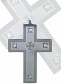 Cubic Zirconia Cross