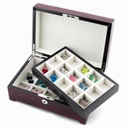 Cufflinks Storage Case for 30 Pairs