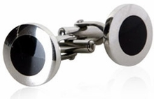 Cufflinks with Round Design