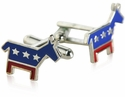 Democrat Donkey Cufflinks