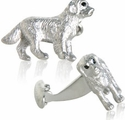 Detailed Dog Cufflinks