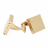 Diamond Edge Rose Gold Cufflinks
