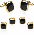 Discount Gold Black Formal Set