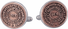 Dix Token Civil War Cufflinks