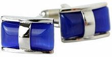 Double Glass Cufflinks