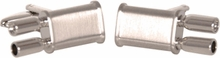 Dual Exhaust Automotive Cufflinks