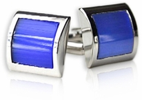 Electric Blue Cufflinks