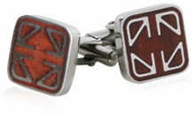 Elegant Wood Cufflinks