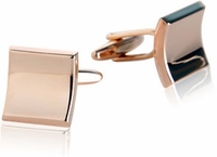 Elliptical Squares in Rose Gold