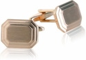 Engravable Rose Gold Cufflinks