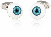 Eyeball Optometrist Cufflinks