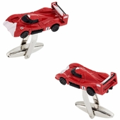 Red Fast Car Cufflinks